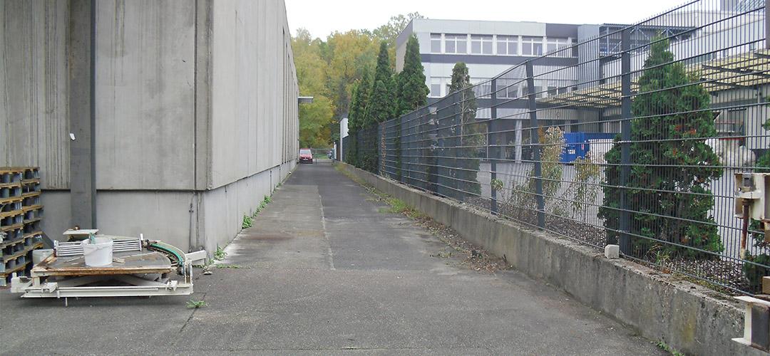 Pflege von Außenanlagen (gewerblicher Bereich)