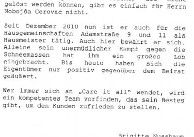 Referenz von Brigitte Nussbaum